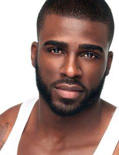 Black Men Beards: 63 Best Beard Styles for Black Men in 2016 Black Man, Hot Black Guys, Fine Black Men, Gorgeous Black Men, Handsome Black Men, Handsome Faces, Fine Men, Beautiful Men, Hot Men