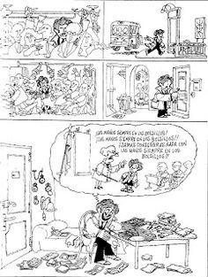 Everything & Nothing: Quino - ¡Yo no fui! Everything And Nothing, Vintage World Maps, Humor, Mafalda Quino, Humour, Funny Photos, Funny Humor, Comedy, Lifting Humor