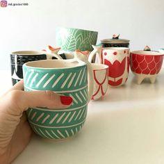 MUNDO CACHARRO Ceramic Cups, Ceramic Art, Homemade Sloppy Joe Sauce, Japanese Tea Cups, Pottery Handbuilding, Glaze Paint, Kitchenware, Tableware, Ceramics Projects