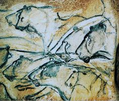 """ancientart: """" Prehistoric cave paintings form the Chauvet Cave in Southern France. Discovered in the Chauvet Cave is significant for its almost completely intact cave drawings that appear on its walls. Through carbon-dating, it was discovered. Lascaux Cave Paintings, Chauvet Cave, Old Paintings, Paleolithic Art, Cave Drawings, Ancient Artifacts, Ancient Civilizations, Rock Art, Oeuvre D'art"""
