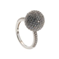 Oxette Silver 925 Ring with zircons - Available here http://www.oxette.gr/kosmimata/daktulidia/ster.silver.ring-sphare-white-cz-607l-1/  #oxette #OXETTEring #jewellery