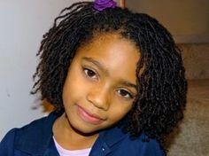 Beautiful locs on a young girl (sisterlocs, microlocs, braidlocs)