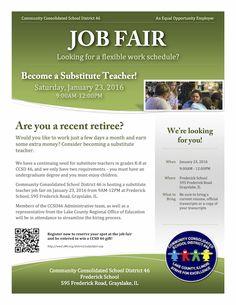 Ccsd   Substitute Teacher Job Fair  Ccsd  In The News