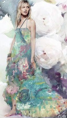 Pastel Shades, Tie Dye Skirt, Rose, Skirts, Fashion, Moda, Pink, Fashion Styles, Skirt