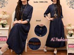 maxi dress sandy denim s345 300x225 Baju Maxi Dress Koleksi Al Foshion