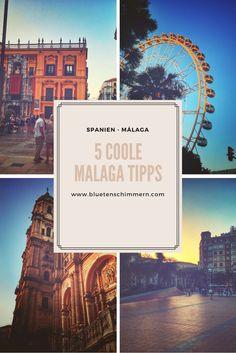 Málaga - diese wunderschöne Stadt in Andalusien hat viel zu bieten. Entdecke bei einem Städtetrip die schöne Stadt in Spanien, Europa und genieß das spanische Lebensgefühl.