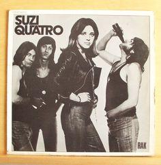 SUZI QUATRO - Same - Vinyl LP 48 Crash Can the Can All shook up Glycerine Queen