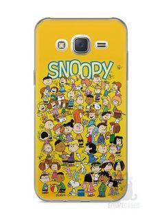 Capa Capinha Samsung J7 Snoopy #33