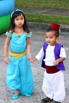 DIY Halloween Costume - Aladdin