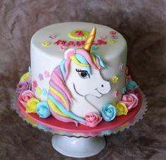 S jednorožcom, Inšpirácie na originálne Rozprávkové torty Unicorn Birthday Parties, 7th Birthday, Birthday Party Themes, Birthday Cake, Baby Cakes, Chocolate Cake, Cake Decorating, Desserts, Frozen