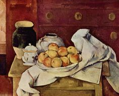Still Life with a Chest of Drawers  - Paul Cezanne