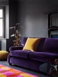 Meuble en couleur moderne - ultra violet