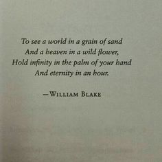 WEBSTA @ c.erzsebet - Auguries of Innocence by William Blake. Poem Quotes, Sad Quotes, Words Quotes, Wise Words, Quotes To Live By, Life Quotes, Inspirational Quotes, Sayings, Career Quotes