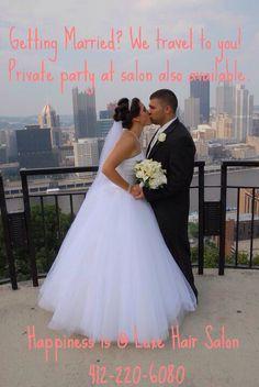 Beautiful Bride! Hair by (Tamara Artnak) #luxehairsalonpgh|Pittsburgh