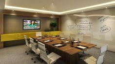 decoração para escritorio de baixo custo para empresas - Pesquisa Google