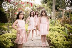 Modelos: Luisa, Elora, Antônia e Bruna Foto: Bianca Rabbi