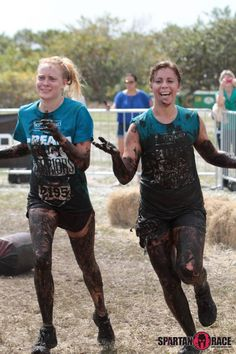 Real Food Warriors at the 2012 Spartan Race in Miami (During Race!)