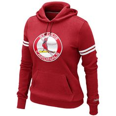 St. Louis Cardinals Women's Cooperstown Pullover Hoody by Nike
