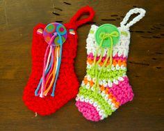 Little crochet Christmas stocking
