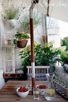 kleiner Balkon, große Wirkung