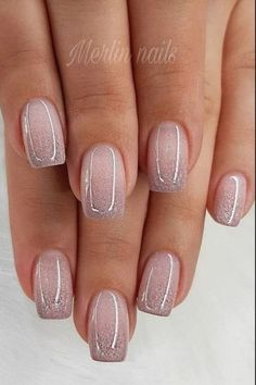 56 Glitter Gel Nail Designs For Short Nails For Spring 2020 naildesign na Stylish Nails, Trendy Nails, Cute Nails, Colorful Nail Designs, Gel Nail Designs, Nails Design, Pedicure Designs, Gel Pedicure, Bridal Pedicure