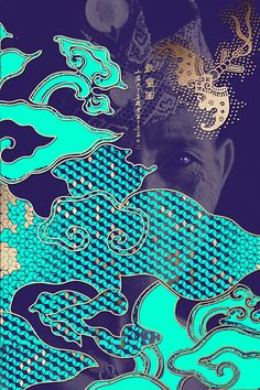 The Happy 8 // aqua & purple // Malaysian hotel brand ID concept // by Graphic Design Posters, Graphic Design Inspiration, Graphic Art, Graphisches Design, Asian Design, Line Design, Illustration Design Graphique, Art Graphique, Gravure Illustration