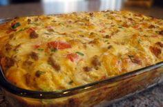 4 Yummy Recipes |   Christmas Breakfast Sausage Casserole