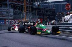 #20 Thierry Boutsen...Benetton Formula Ltd...Benetton B187...Motor Ford Cosworth GBA V6 t 1.5...#1 Alain Prost...Marlboro McLaren International...McLaren MP4/3...Motor TAG Porsche P01 V6 t 1.5...GP Estados Unidos 1987