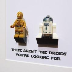 Pomysły na prezent LEGO – Figurkowe ramki