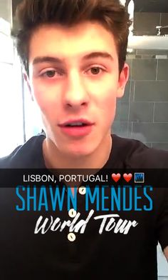 Shawn's tour omg to bad I probably won't get to go