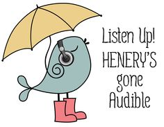 Listen up! Henery's gone Audible. A list of Henery Press books that will soon be available with Audible.com