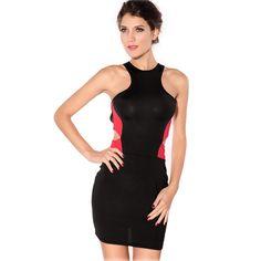 0657ffcd82 Sexy high-back turtleneck sleeveless pencil skirt evening dress 15 Dresses
