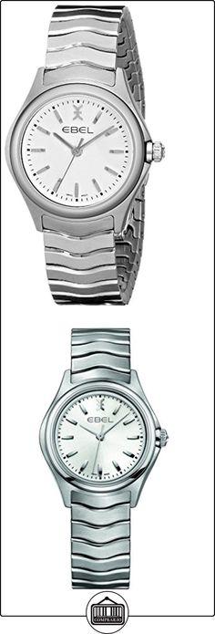 Ebel Ebel Wave Lady-Reloj de pulsera analógico para mujer cuarzo acero inoxidable 1216191  ✿ Relojes para mujer - (Lujo) ✿