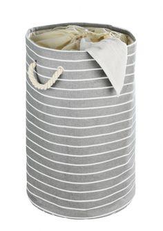nautic look, laundrybasket, #wasmand , #laundrybag  #storage