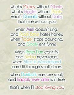 disney love.