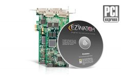 The 32 Channel PCI Card Pro from EZWatch manages up to 32 simultaneously recording security cameras and 8 audio feeds. Recording at 240 FPS with crisp, clear resolution these cards turn your PC into a fully functional security system.