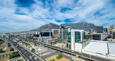 The Booming Cape Town Foreshore.
