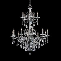 classic, dramatic Crystal Chandeliers