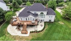 Gorgeous deck! 1310 Bentley Place Drive, Chesterfield, MO.