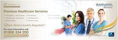 Bus Rear Ad Campaign Promotes Blakelands Premium Care