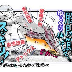 GW疲れに!ゆっくり伸ばす「股関節ストレッチ」で疲労回...