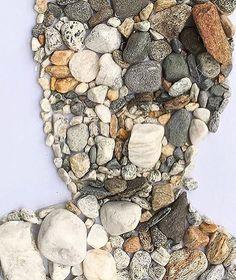 """Heavy Stones on your Face"" #stonesculpture #opfreuler"