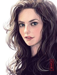 """""""I thought she wasn't a forger?""""  """"She's not; She didn't paint this. Someone else did. Someone who sees her like this."""""""