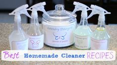 You can download my free natural cleaner recipes and the custom labels now!