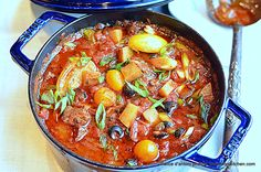 beef, potatoes & tomatoes Stew