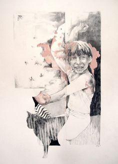 © Magdalena Lamri, High hopes, mine de plomb sur papier, 56x76 cm, 2013