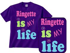 ringette is my life t-shirt would be awesome! My Friend, My Life, Neon, Gift Ideas, Awesome, Quotes, Mens Tops, T Shirt, Quotations
