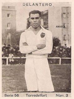 TORREDELFORT (Valencia C.F. - 1932-33) Cupón Peninsular Football Cards, Football Players, Image Foot, Everton Fc, Real Madrid, History, Soccer, Brazil, Soccer Pictures