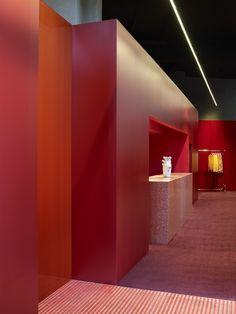 Acne Studios Store, Copenhagen, Denmark by Bozarthfornell Architects