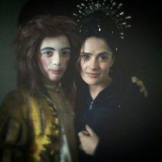 I and Salma Hayek